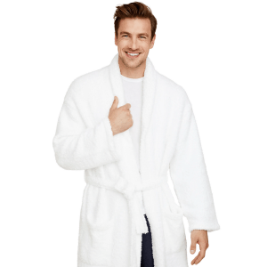 Cozy Chic Adult Robe in White