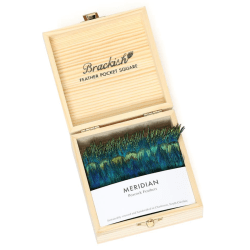 Meridian Pocket Square product shot packaging