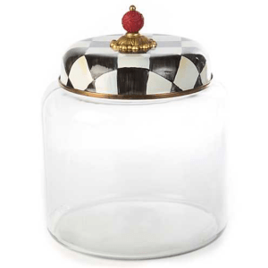 Courtly Check Storage Canister product shot front view