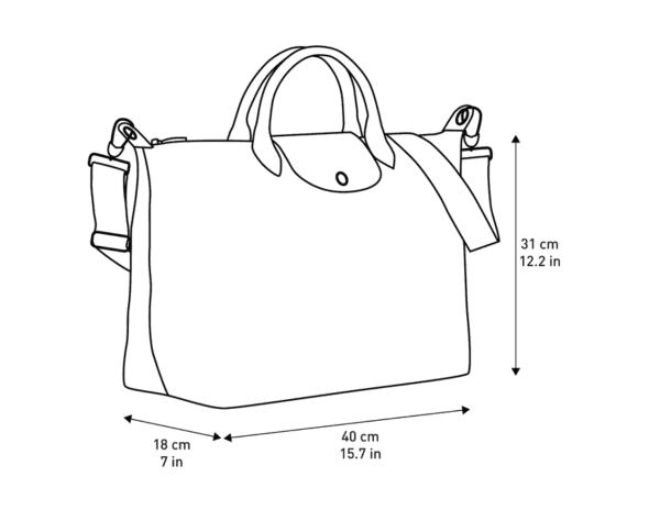 Le Pliage Rainbow Top Handle Bag