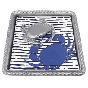 Crab Rope Napkin Box