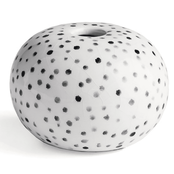 Enzo Speckled Vase product shot front view
