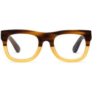 D28 Reading Glasses in Bullet Coffee