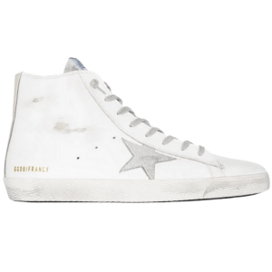 Pure White High-Top Sneakers