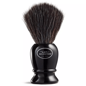 Pure Black Shaving Brush product shot front view
