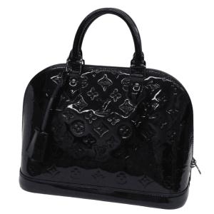 Louis Vuitton Black Vernis Alma PM