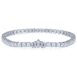 Riveria Tiara Diamond Line Bracelet