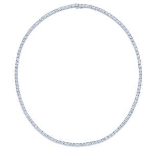 Sunburst Diamond Line Necklace