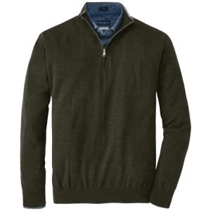 Excursionist Flex Quarter-Zip Sweater in Rosemary