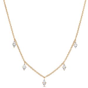 Dujour Marquise Diamond Necklace
