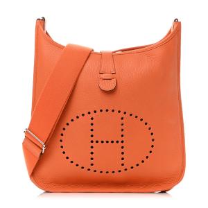 Hermes Orange Clemence Evelyne TPM