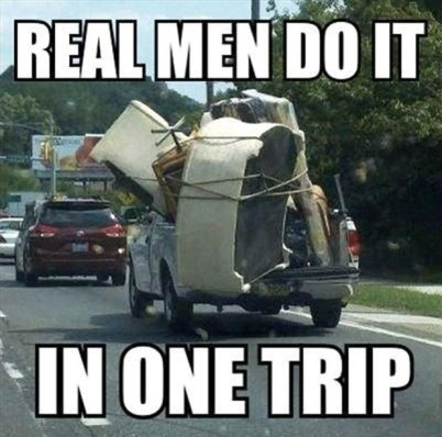 Moving in one trip