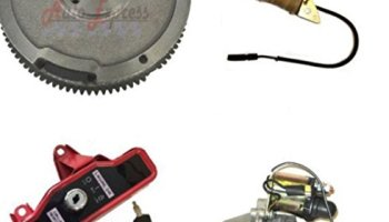 Everest Brand Compatible with Honda GX160 5.5HP Flywheel Ring Gear with Charging Coil Kit