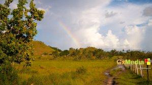 Rainbow in the sky, Rupununi Savannah