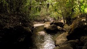 Downstream from the Kumu Falls