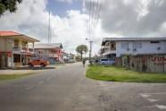 Street in Nieuw Nickerie.