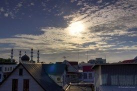 Paramaribo skyline...