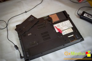 Figure 2: Replacing the HDD