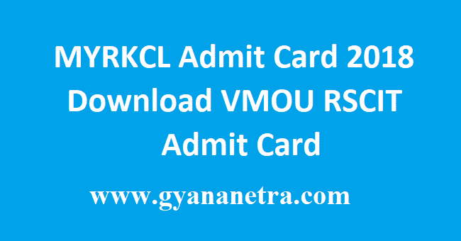 MYRKCL Admit Card
