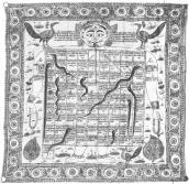 Jaina, 84 felter (Gujarat, 1834)