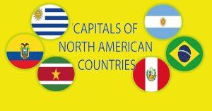 দক্ষিণ আমেরিকা মহাদেশের দেশগুলোর রাজধানী