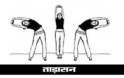 Tadasana Pose in Hindi