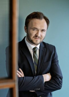 Standup-komikeren Dan Jørgensen