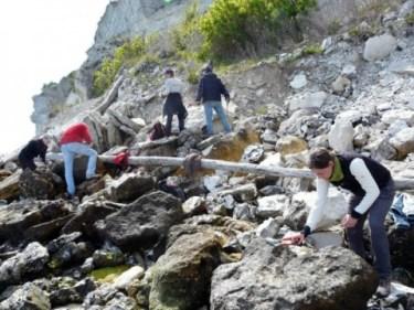 Stevns_fossiljægere