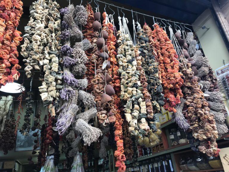 kryddor och örter Gyllintours reseblogg
