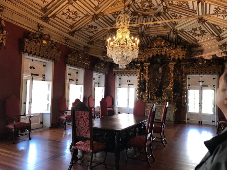 vackert rum på museum