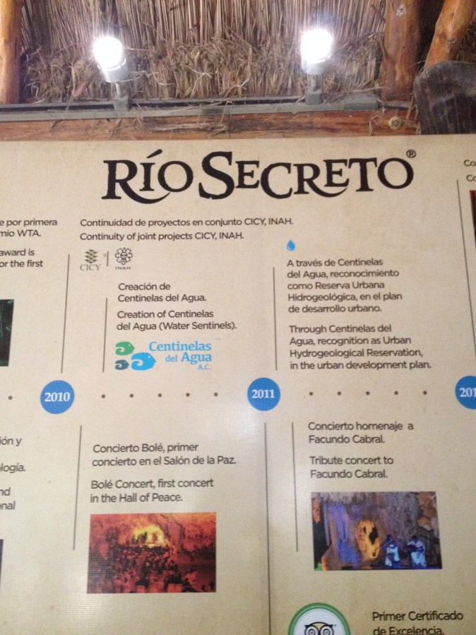 information about Rio secreto