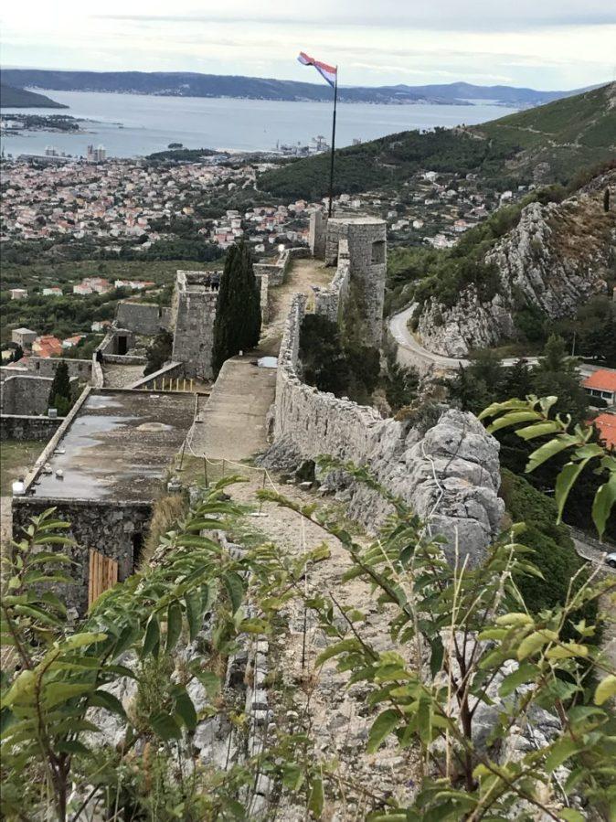 vy över Split