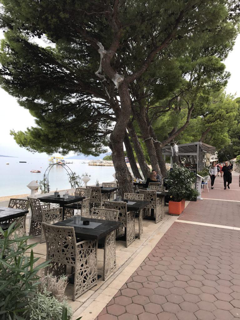 strandpromenad Makarska
