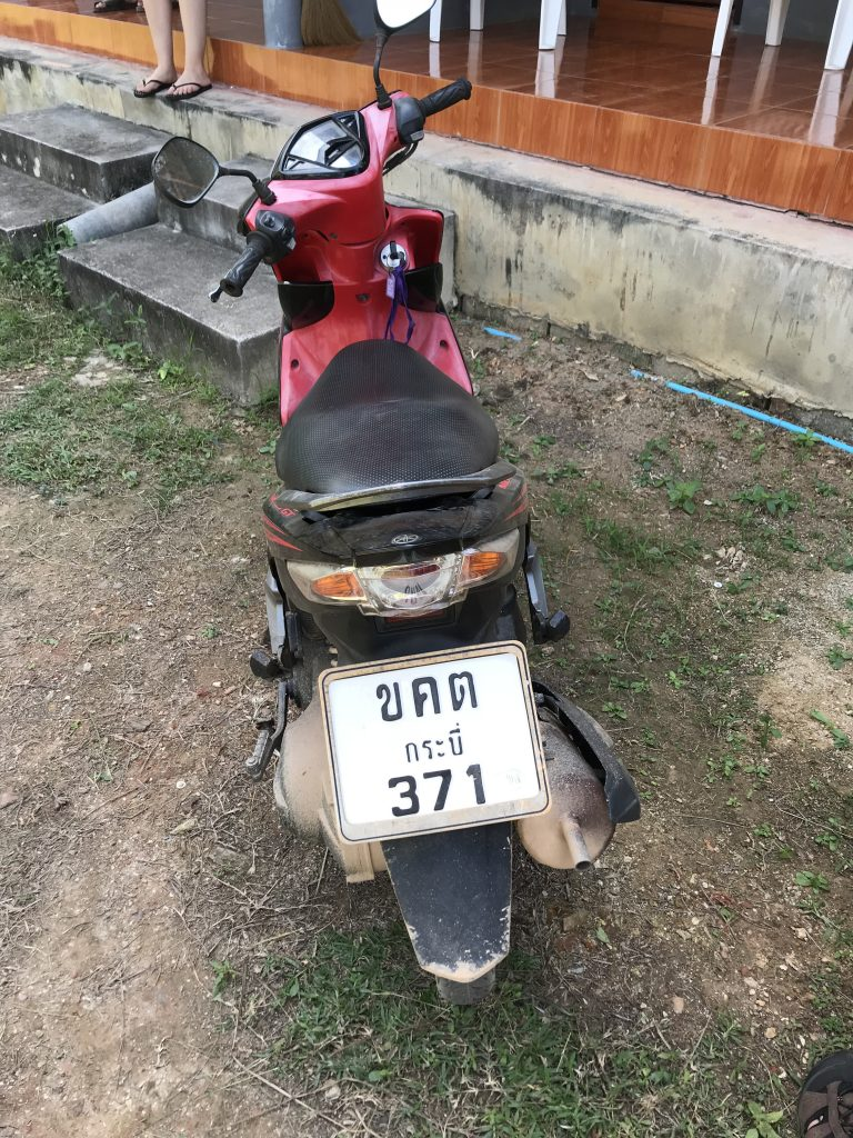 hyrd moped