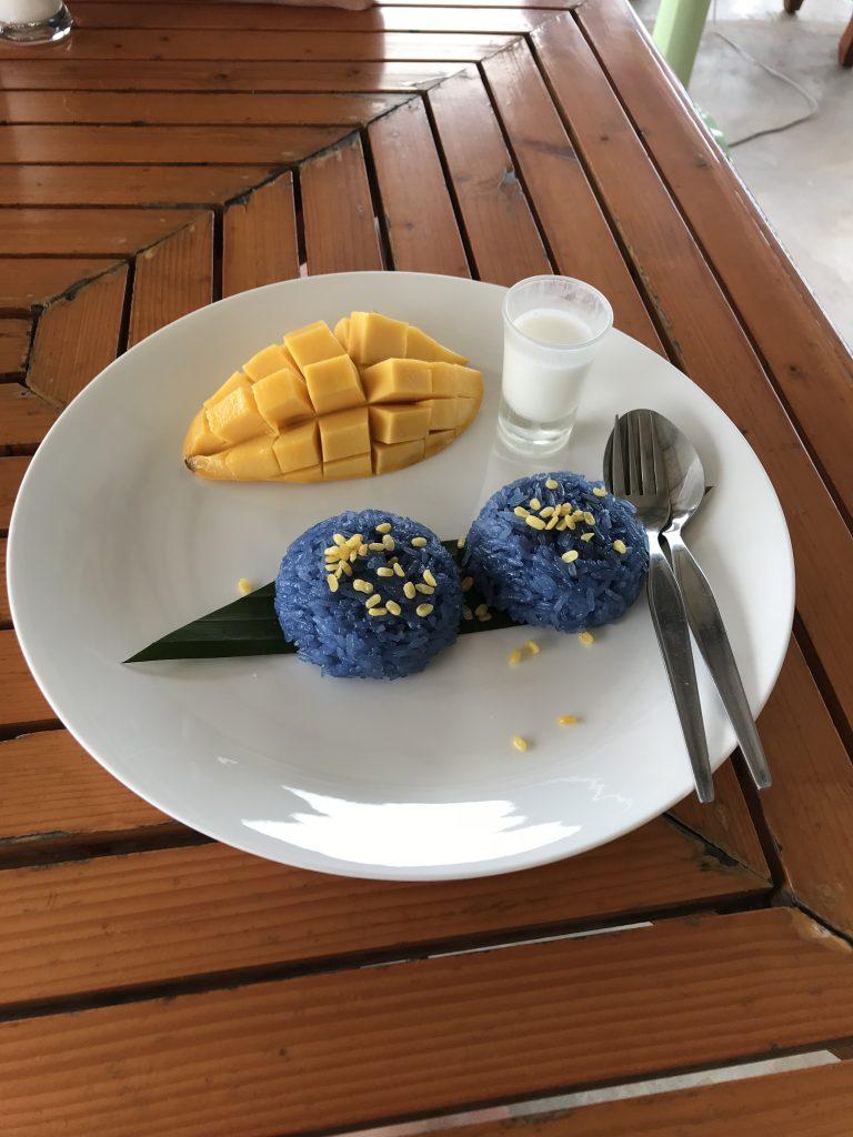 mango med sticky rice