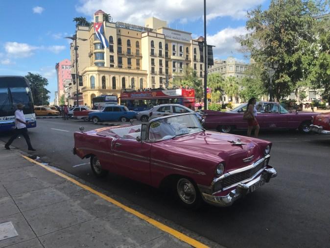 vintagebil i Havanna