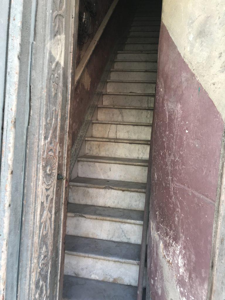 stairs in Havana