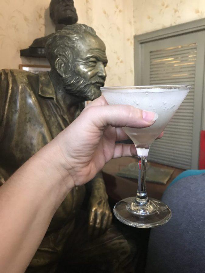 Skålar med Hemingway