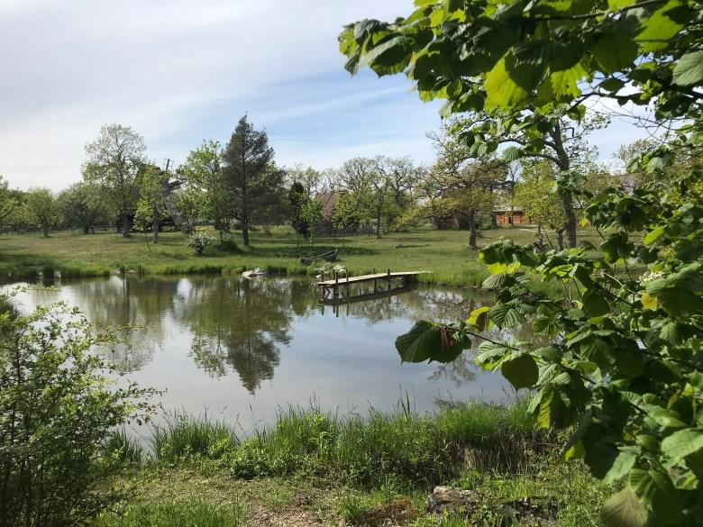 liten sjö på Bungemuseet