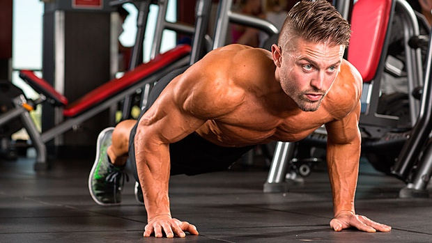 Push ups to stay fit