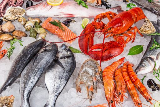seafood-10 foods for keto diet