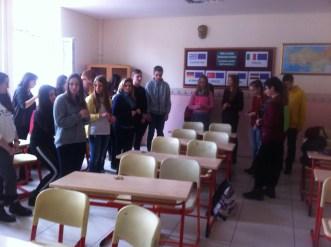 "Greek teaching / learning activity "" Think positive"" Ankara February 2015"