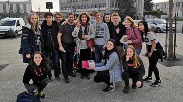 Erasmáci pod Eiffelovkou