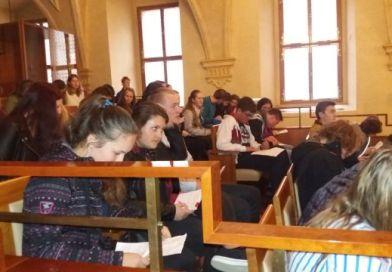 Studenti navštívili místa, kde se tvoří zákony