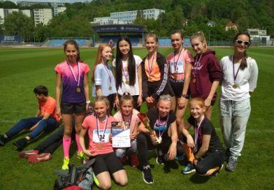 Famózní výsledek našich mladých atletek v krajském kole Poháru rozhlasu