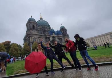 Berlín pod deštníky