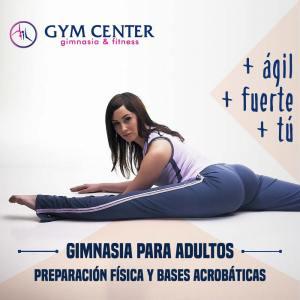 Gimnasia para adultos en Gym Center