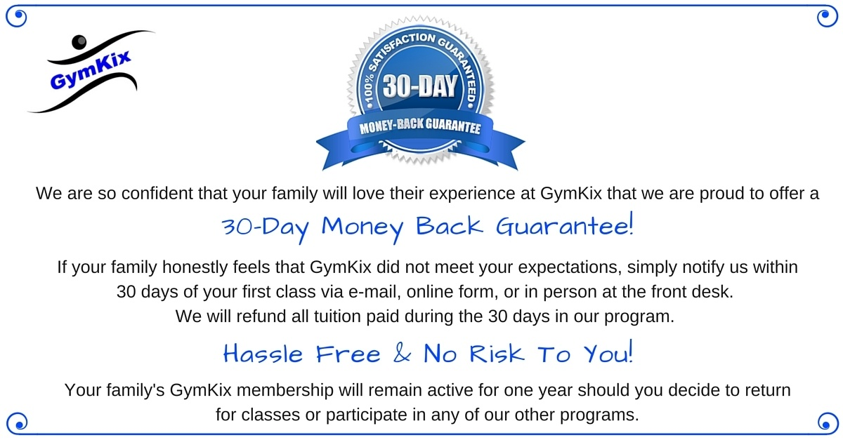GymKix Guarantee