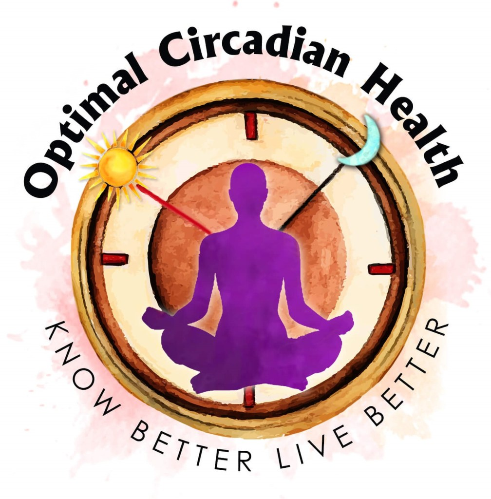 Logo from Optimal Circadian Heath a blog about health and light