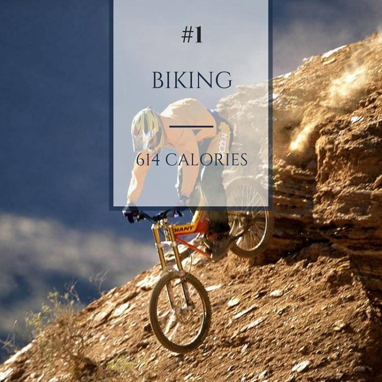 biking calories